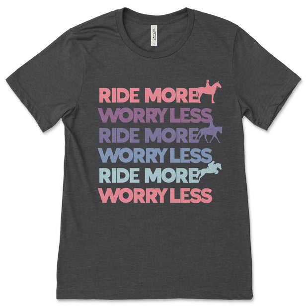 Ride More - ONE HORSE THREADS
