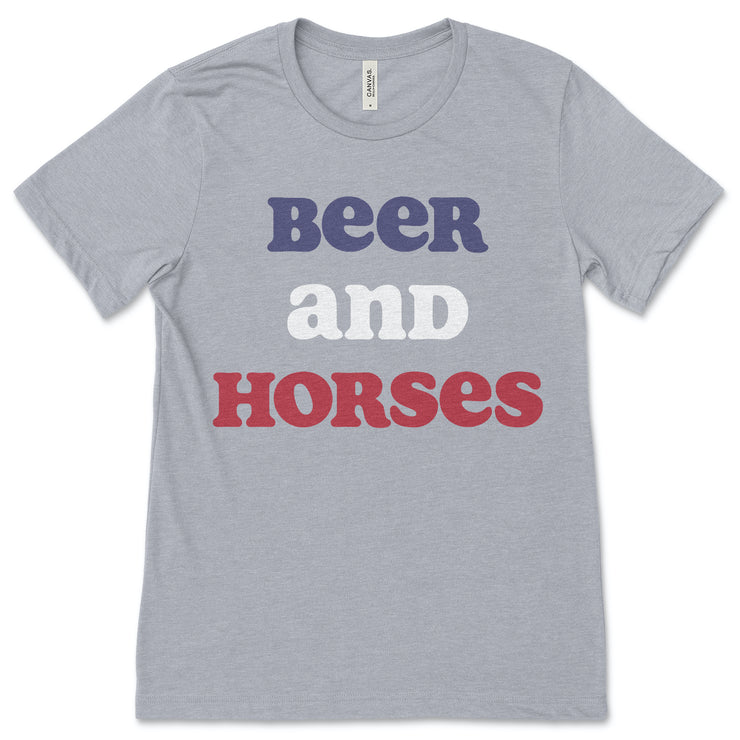 Beer and Horses - ONE HORSE THREADS