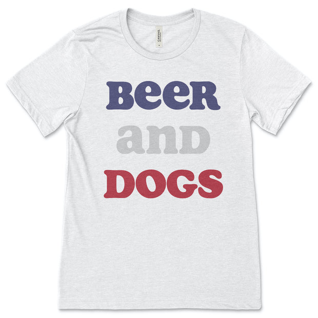 Beer and Dogs - ONE HORSE THREADS