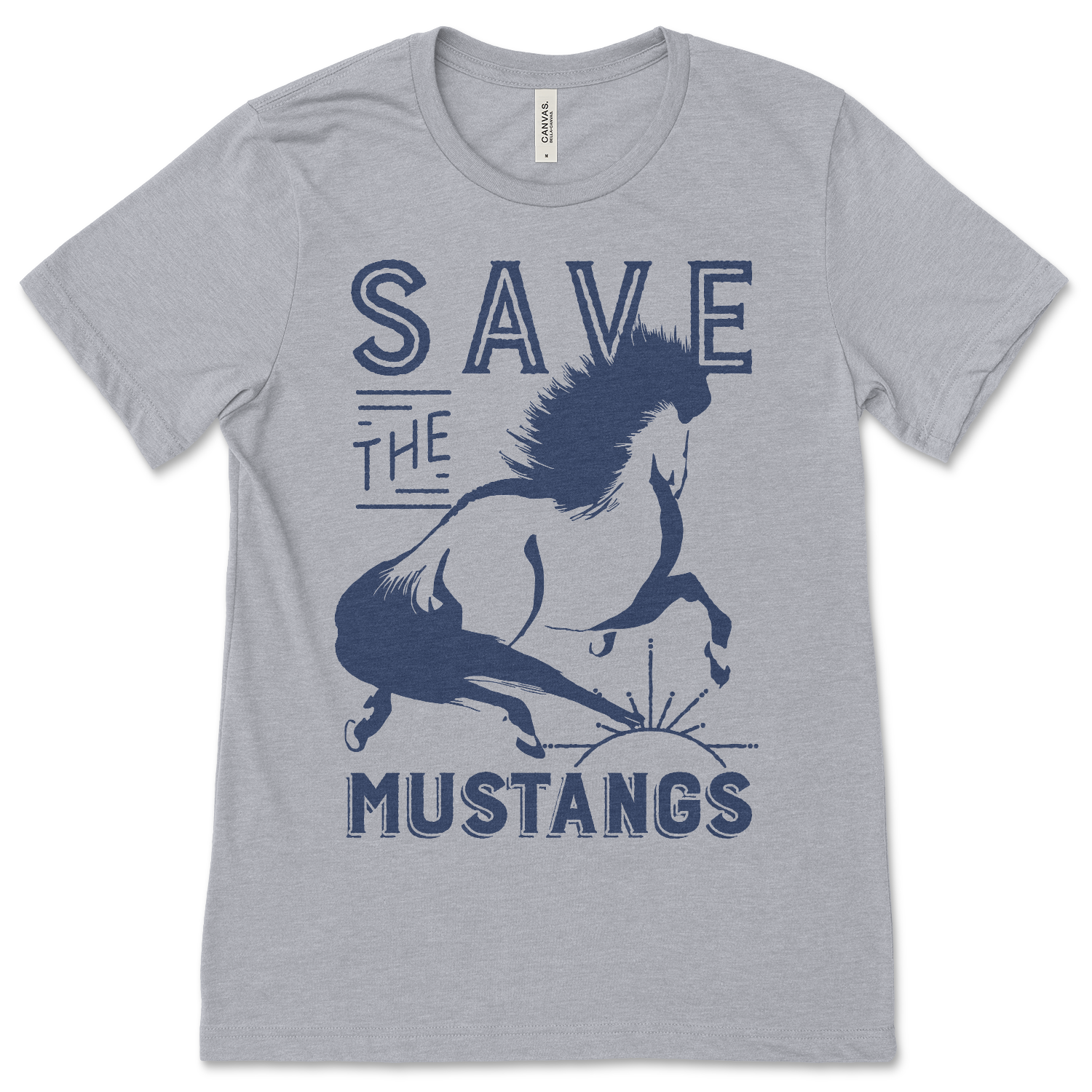 Save The Mustangs - ONE HORSE THREADS