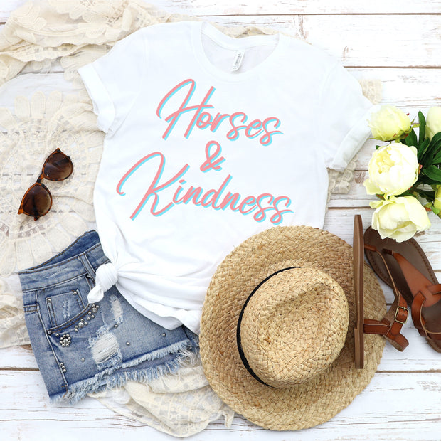 Horses & Kindness - ONE HORSE THREADS