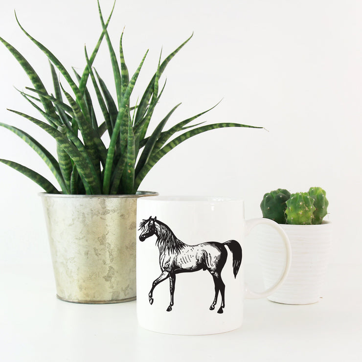 Arabian Mug - ONE HORSE THREADS