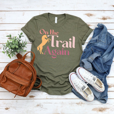On The Trail - ONE HORSE THREADS
