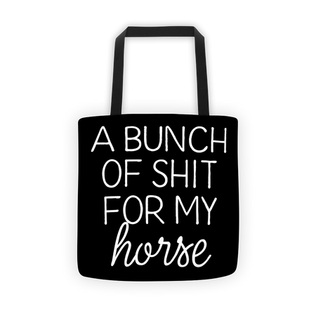 Bunch Tote - ONE HORSE THREADS
