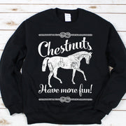 Chestnuts - ONE HORSE THREADS