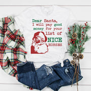 Dear Santa Short Sleeve T-shirt