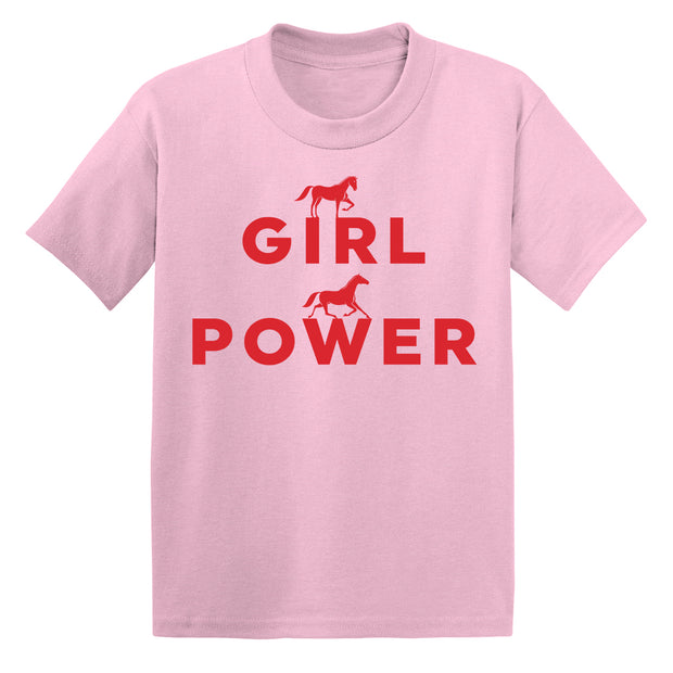Girl Power Mini Tee - ONE HORSE THREADS