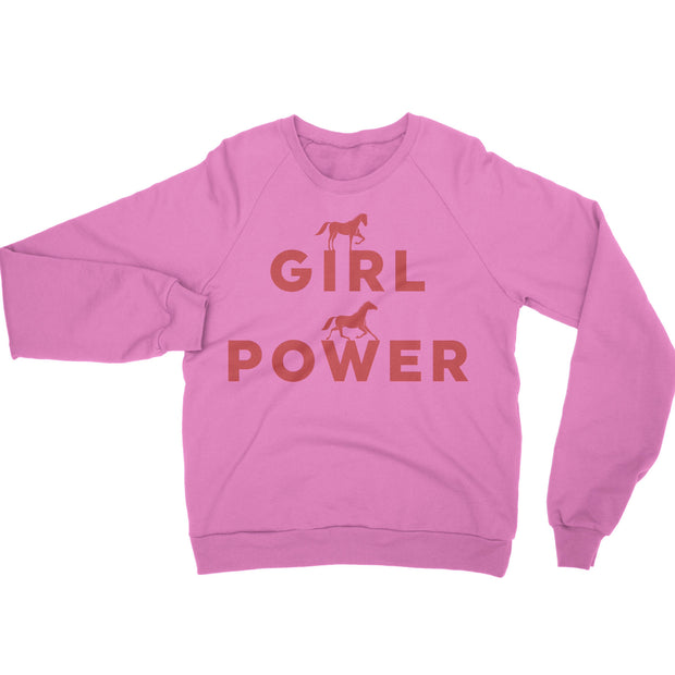 Girl Power Pony Pullover - ONE HORSE THREADS