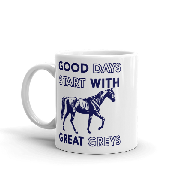 Great Greys - ONE HORSE THREADS