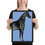 Horse Art - ONE HORSE THREADS
