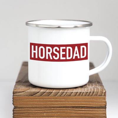 Horse Dad Mug - ONE HORSE THREADS