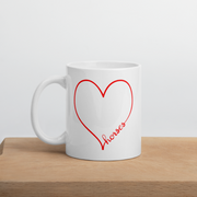 Horse Heart Mug - ONE HORSE THREADS