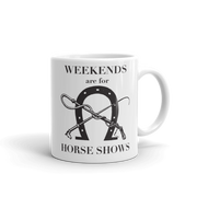 Horse Show Mug - ONE HORSE THREADS