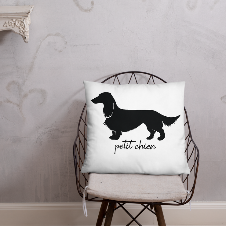 Petit Chien Pillow - ONE HORSE THREADS