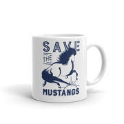 Mustangs Mug - ONE HORSE THREADS