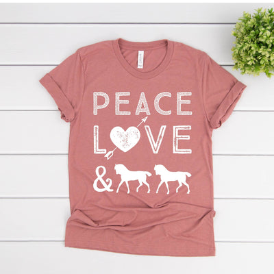 Peace - ONE HORSE THREADS