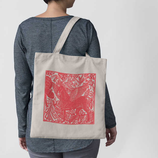 Magic Farmers Tote - ONE HORSE THREADS