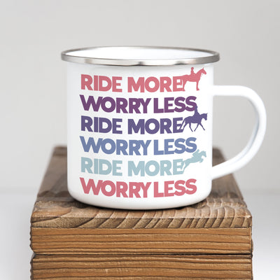 Ride More Camp Mug - ONE HORSE THREADS