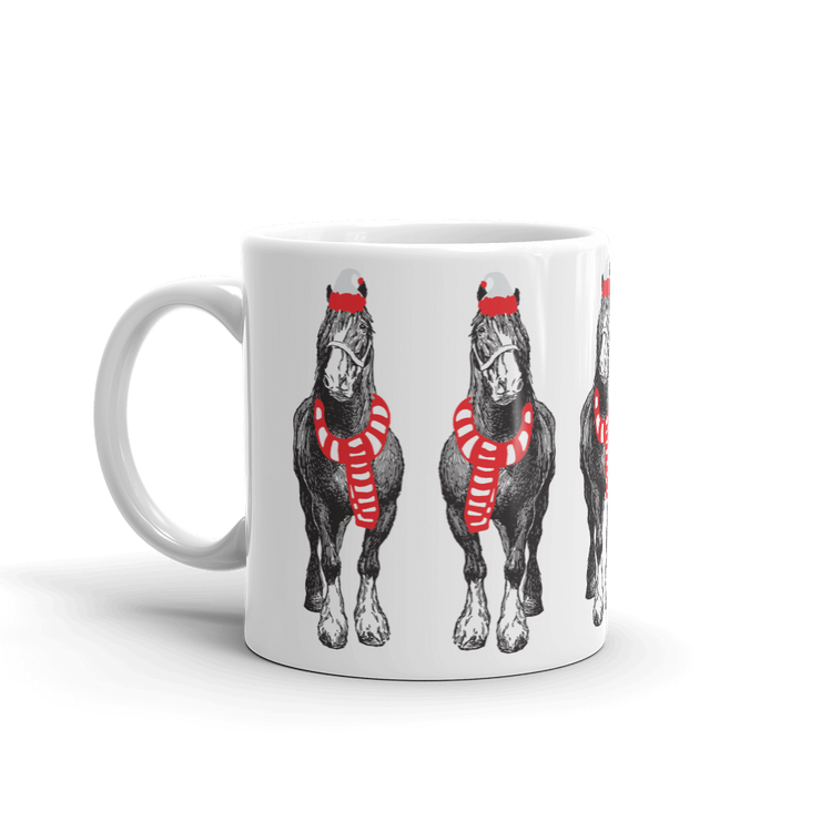 Santa Hoof Mug - ONE HORSE THREADS