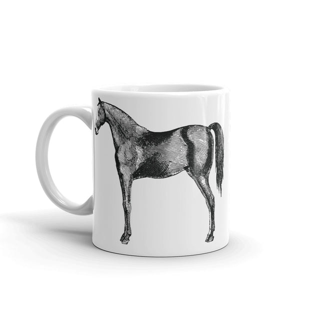 Standing Horse Mug - ONE HORSE THREADS