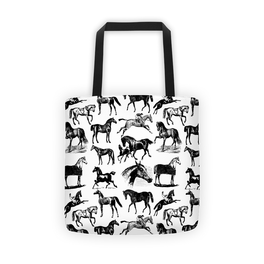 Horses Tote - ONE HORSE THREADS