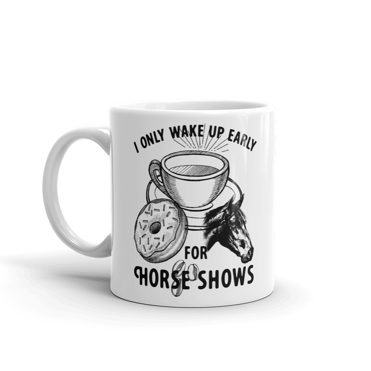 Wake Up Mug - ONE HORSE THREADS