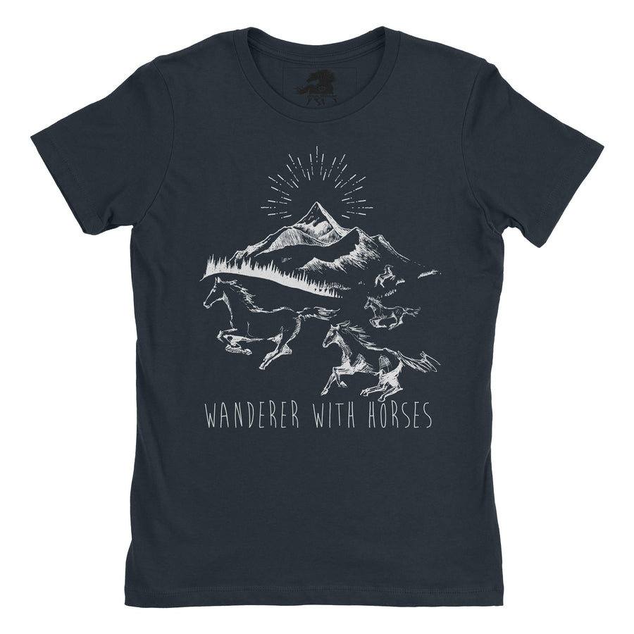 Wanderer Everyday Tee - ONE HORSE THREADS