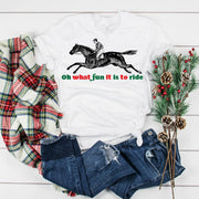 Oh What Fun Short Sleeve T-shirt - ONE HORSE THREADS