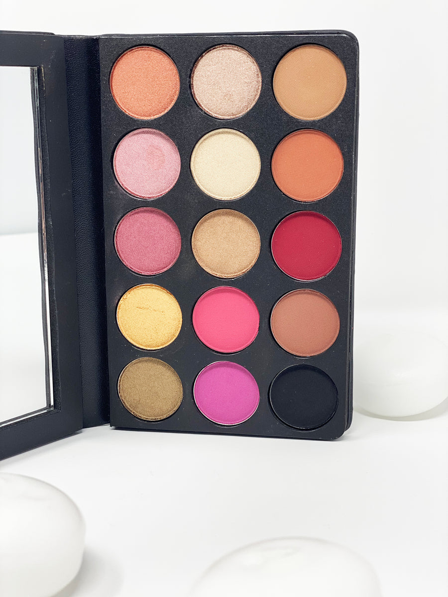 Rose' Metal | 15 Color Eye Shadow Pallet