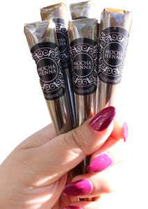 4 PACK OF 100% Natural Henna Cones