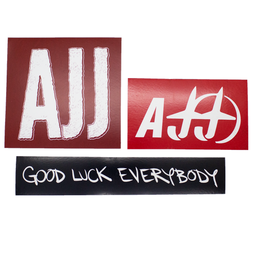 AJJ Sticker Pack II