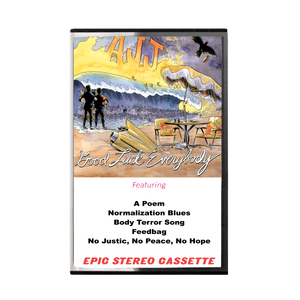 AJJ - Good Luck Everybody - Cassette Tape