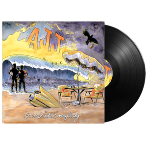 AJJ - Good Luck Everybody - Black Vinyl
