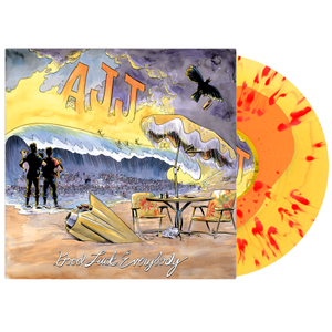 AJJ - Good Luck Everybody - Splatter Vinyl