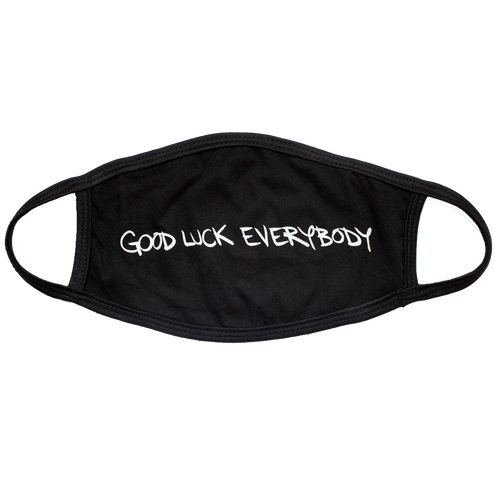 AJJ Good Luck Everybody Mask