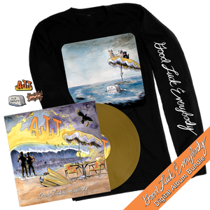Good Luck Everybody Gold Vinyl, Longsleeve Shirt & Pin Set Bundle