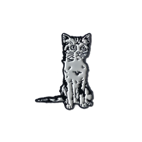 Kitten Enamel Pin