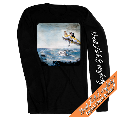 R.I.P Subtlety Longsleeve Shirt & Digital Album Bundle (PRE-ORDER)