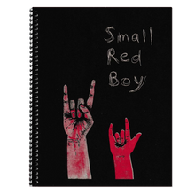 Load image into Gallery viewer, Small Red Boy Spiral-bound Book and Flexi Record