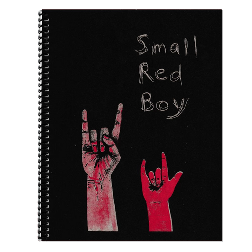 Small Red Boy Spiral-bound Book and Flexi Record