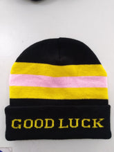 Load image into Gallery viewer, Good Luck Everybody Pom Beanie