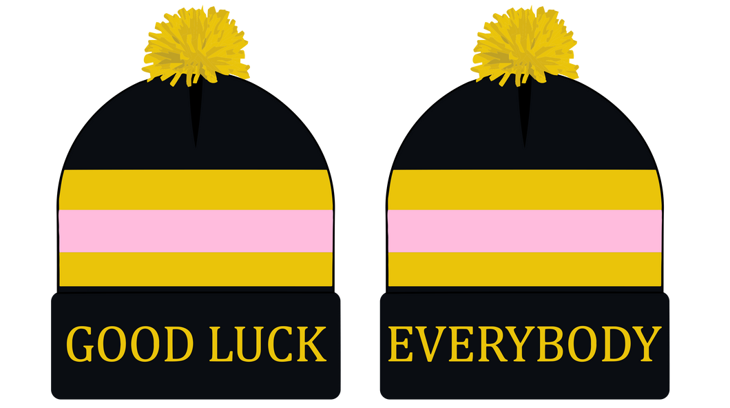 Good Luck Everybody Pom Beanie