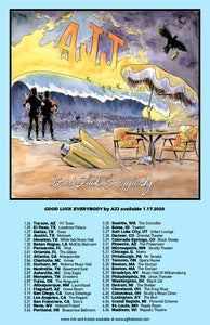 Good Luck Everybody Tour Poster