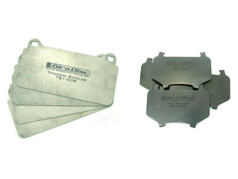 Brake Pad Shields & Shims