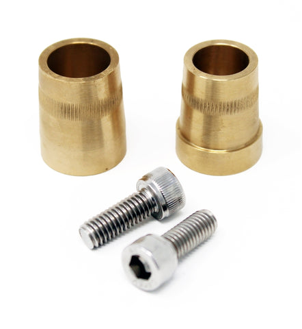 Torque Solution Universal Battery Terminals Brass M6 Bolt to SAE