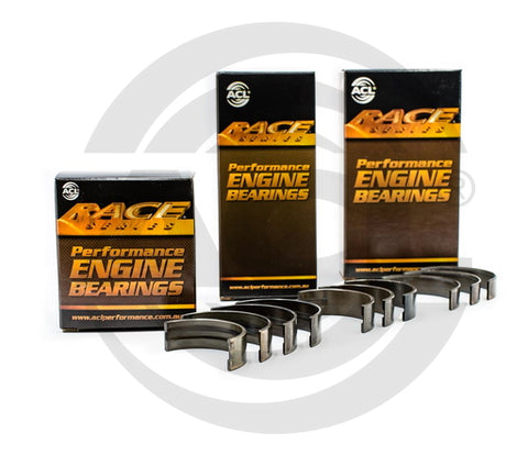 ACL Main Bearing Set EJ18 EJ20 EJ22 EJ25 EJ20T EJ22T, EJ25T WRX STi - Extra Oil Clearance (-0.025mm)