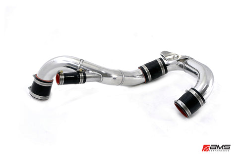 AMS Lower Intercooler Piping EVO X