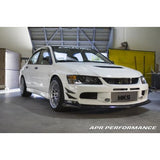 APR Front Bumper Canards EVO 9