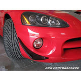 APR Front Bumper Canards Viper SRT-10 03+