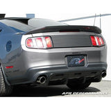 APR Carbon Rear Diffuser Mustang 10-12